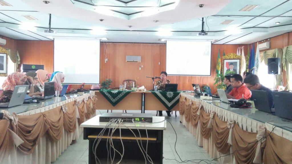 kegiatan pendampingan Wold Class University Universitas Muhammadiyah Palembang 21 April 2018