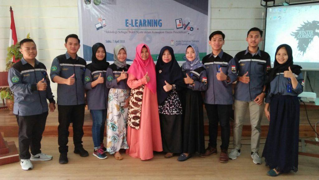 Panitia Pelatihan E-Learning Program studi Teknik Kimia 7 April 2018